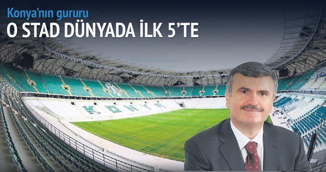Torku Arena dünyada ilk 5'te