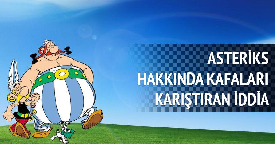 Arjantin'de görüp Asteriks'i çizmiş!