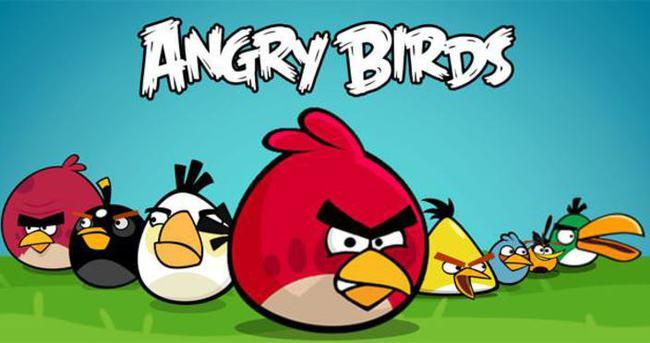 Angry Birds'de şok