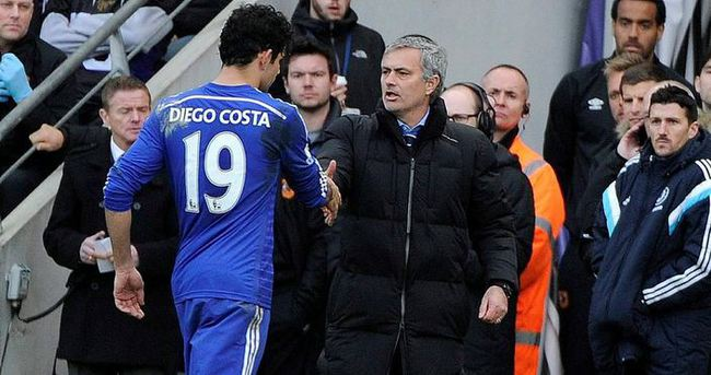 Diego Costa kadrodan çıkarıldı