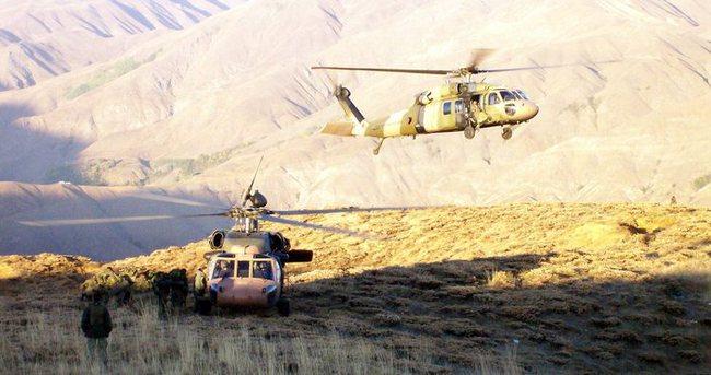 Genelkurmay'dan PKK'nın sığınaklarına operasyon