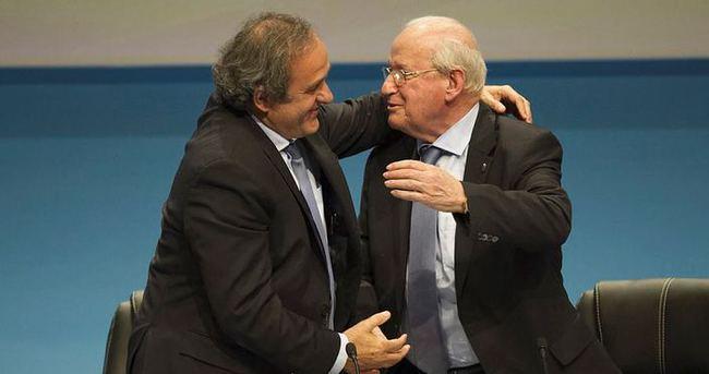 Michel Platini yeniden UEFA başkanı
