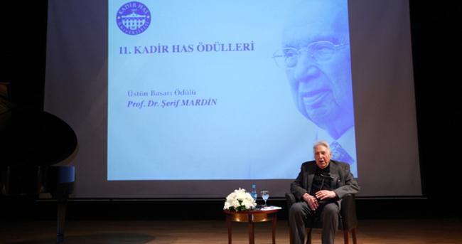 11. Kadir Has Üstün Başarı Ödülü'nün sahibi Prof. Dr. Şerif Mardin oldu