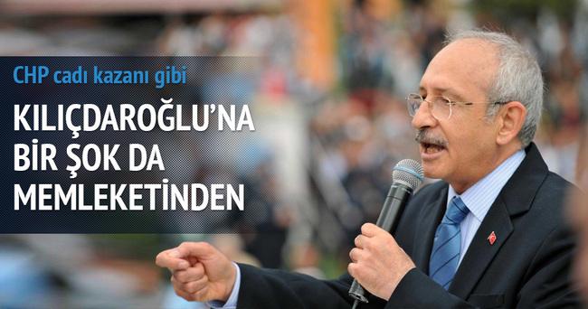 Kılıçdaroğlu'na bir şok da memleketinden