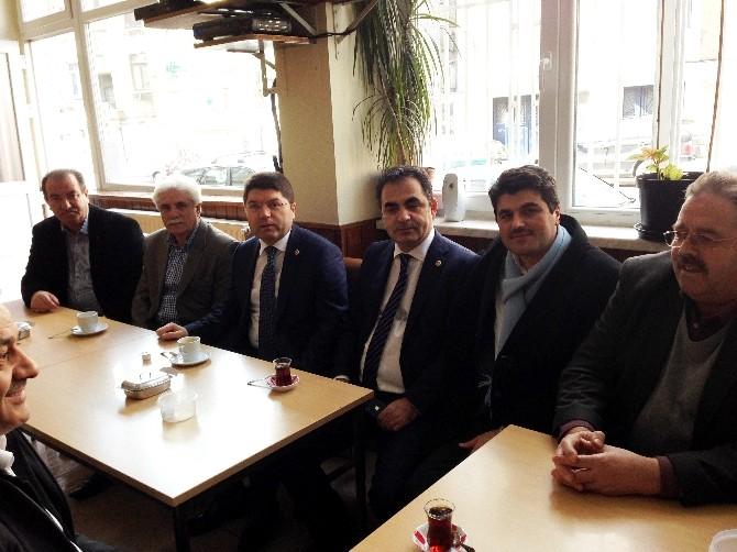 Milletvekili Tunç Belçika'daki Türk Vatandaşlar İle Bir Araya Geldi