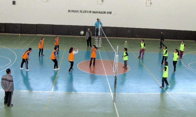 Araban'da Temel Eğitim Okulları Arası Spor Müsabakaları Başladı.