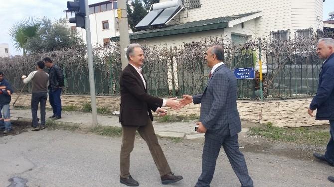 Arsuz'da Yollar Onarılıyor