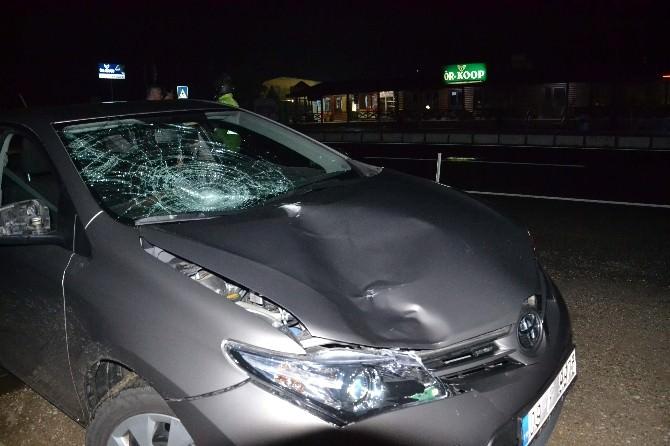 Aydın'da Otomobil Yayaya Çarptı: 1 Ölü