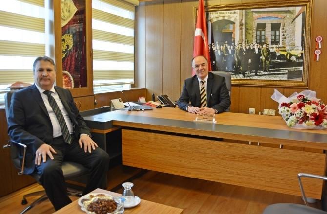 Çerçi'den İl Milli Eğitim Müdürü Dernekbaş'a Ziyaret