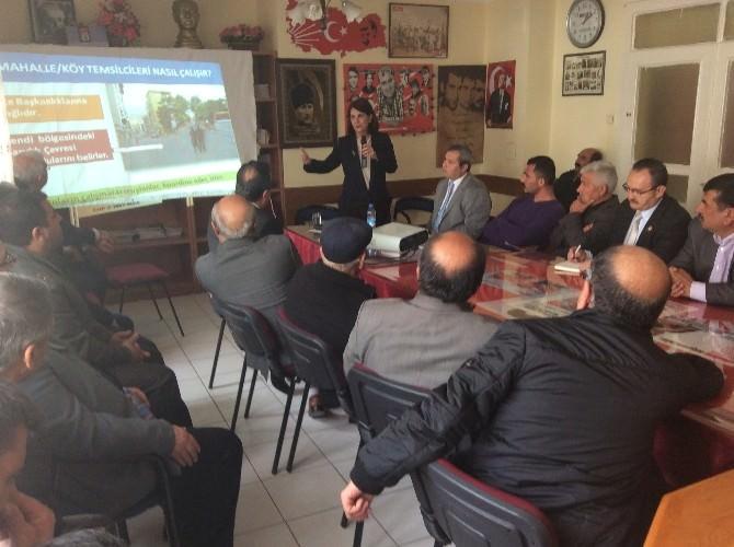 Prof. Dr. Gaye Usluer Kırşehir'de
