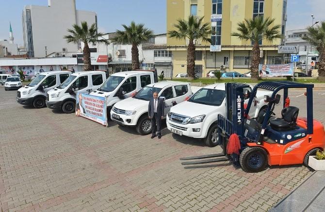 Çiğli Belediyesi Araç Filosuna Yeni Araçlar