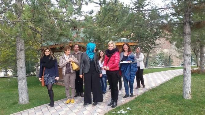 Avusturyalı Eğitimciler Özel İnsanlar Eğitim Merkezi'nde