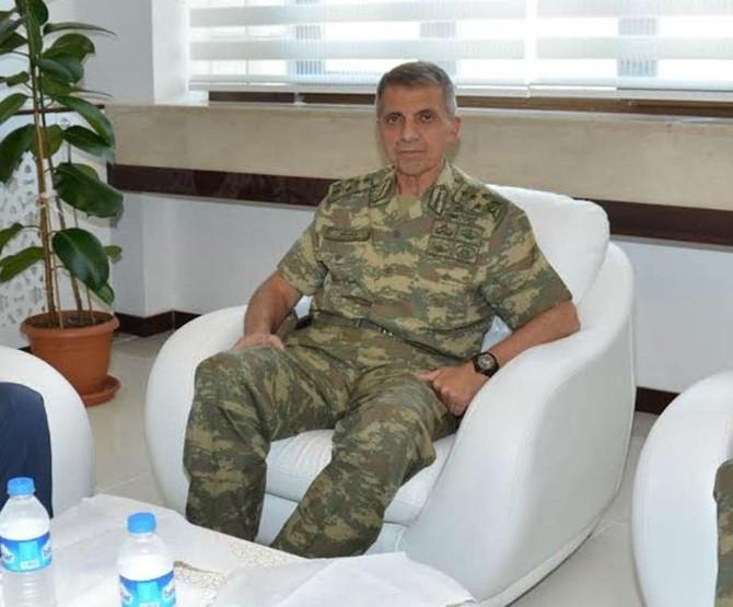 Ege Ordu Komutanı Edremit'te