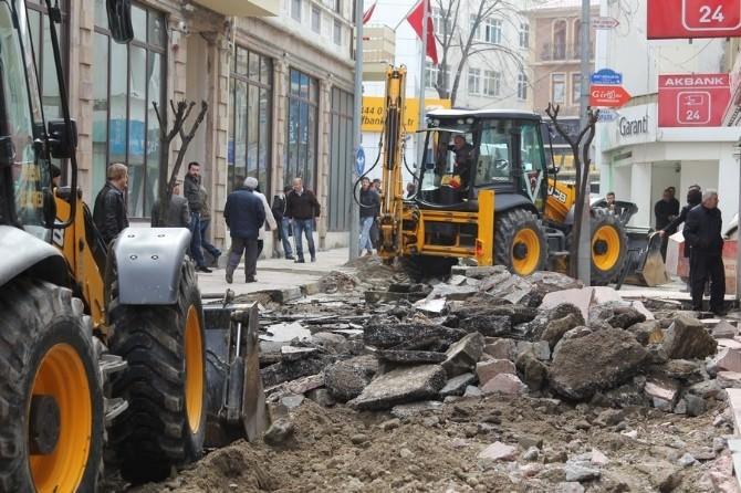 Giresun Belediyesi Cadde Ve Sokakları Yeniliyor