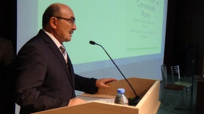 Mehmet Akif Ersoy Ve Çanakkale Ruhu Konulu Konferans