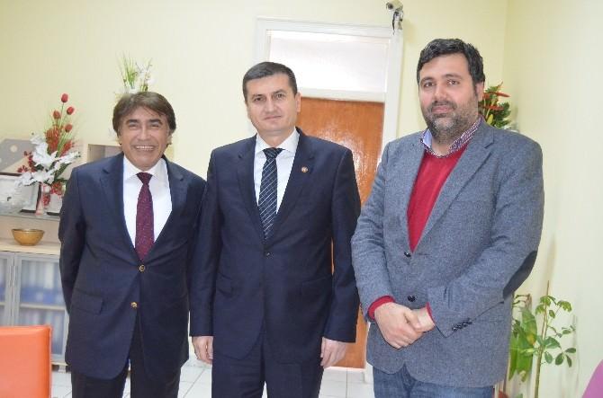 İskenderun Cumhuriyet Başsavcısı Akın, Çelik-iş Sendikası'nı Ziyaret Etti