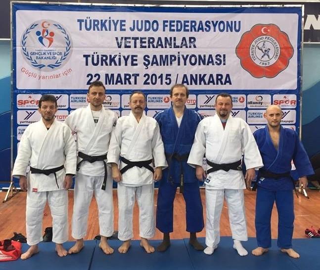 Doç. Dr. Hamdullah Çuvalcı Judo'da Türkiye 3.'sü Oldu