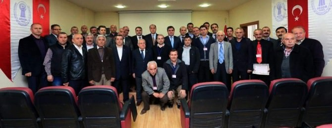 Amasya'da Halk Otobüsü Şoförleri Sertifikalı Oldu