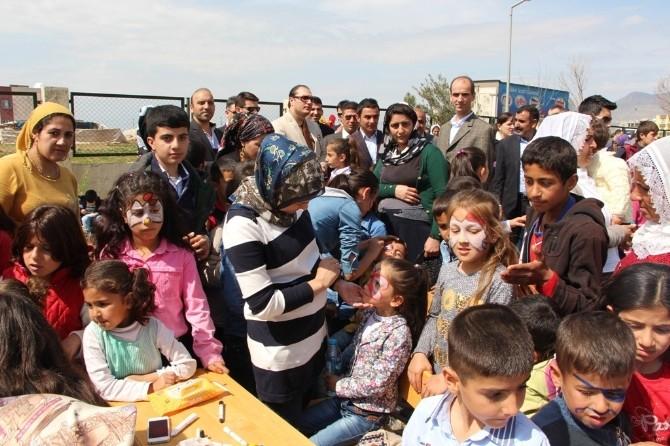 Silopi Yenişehir İlk Ve Ortaokulu'nda Kermes