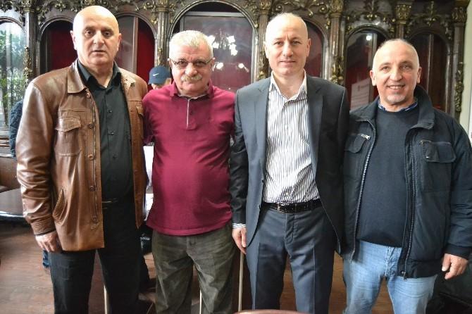 """Tsyd Trabzon Şubesi Murat Taşkın'la """"Devam"""" Dedi"""