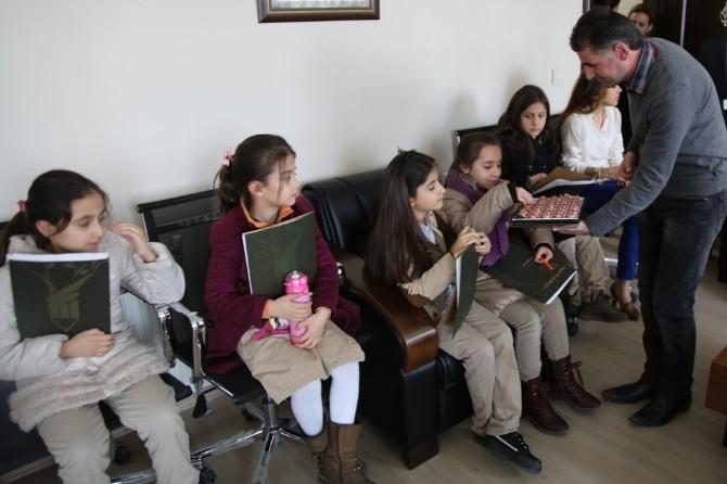 Öğrencilerden İpekyolu Belediyesi'ne Ziyaret
