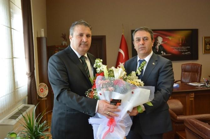 Başkan Çerçi'den Başsavcı Şimşek'e Hayırlı Olsun Ziyareti