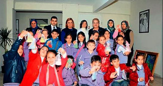Osmaniyeli çocuklar sabun yapmayı sevdi