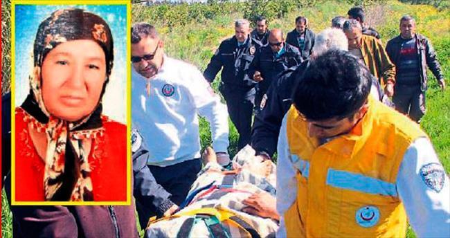 Kayıp kadın ölmek üzereyken bulundu