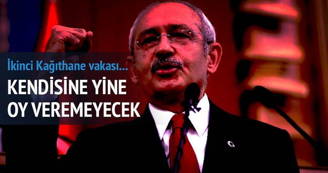 Kılıçdaroğlu yine oy kullanamayacak!