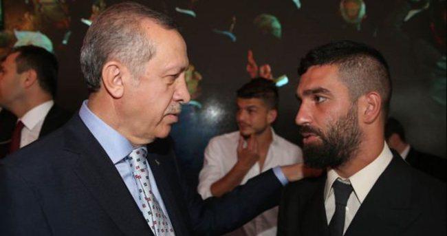 Arda Turan'a göre Erdoğan haklı