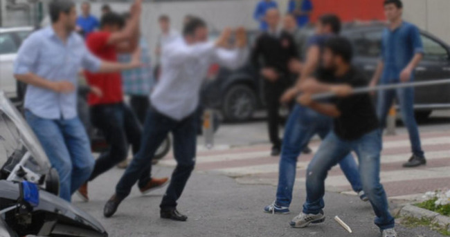 İstanbul'un göbeğinde meydan savaşı