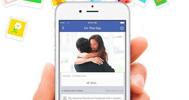 Facebook'un yeni uygulaması On This Day