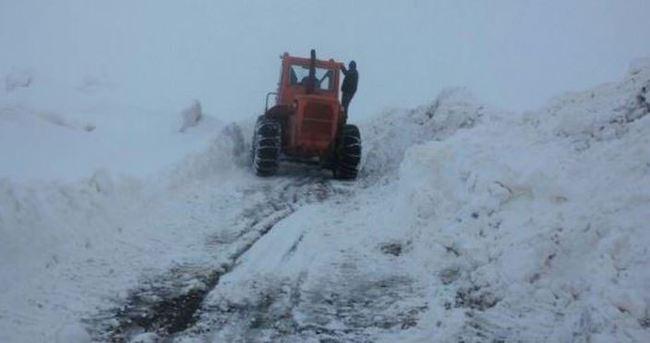 45 köy yolu ulaşıma kapandı