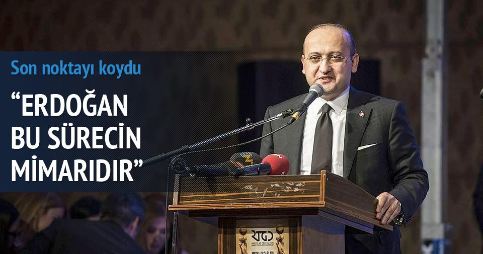 Akdoğan'dan çözüm süreci mesajı