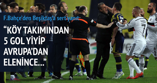 Fenerbahçe, Beşiktaş'a öyle bir yanıt verdi ki...