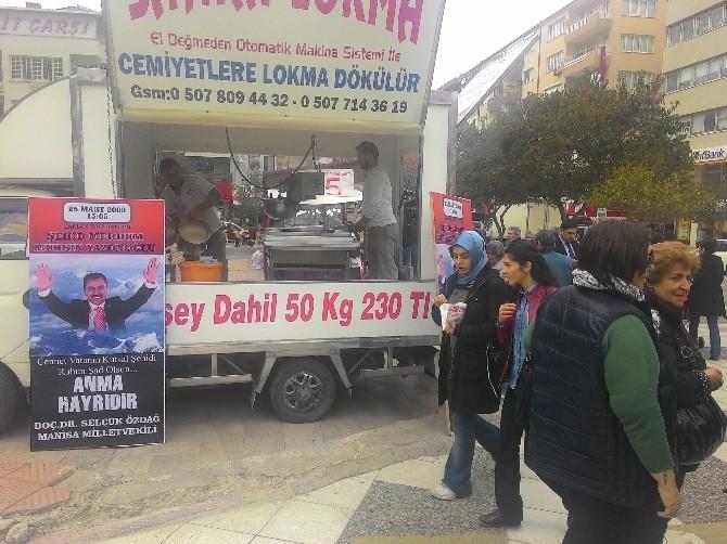 Milletvekili Özdağ Yazıcıoğlu İçin Lokma Döktürdü
