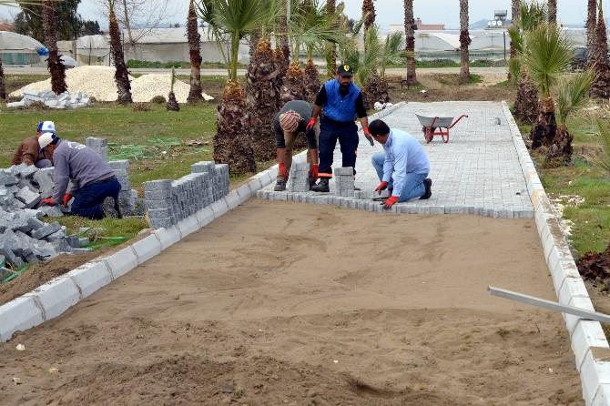 Caretta Caretta Parkı Yenileniyor