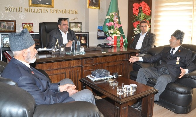 Gazilerden Başkan Koçak'a Ziyaret