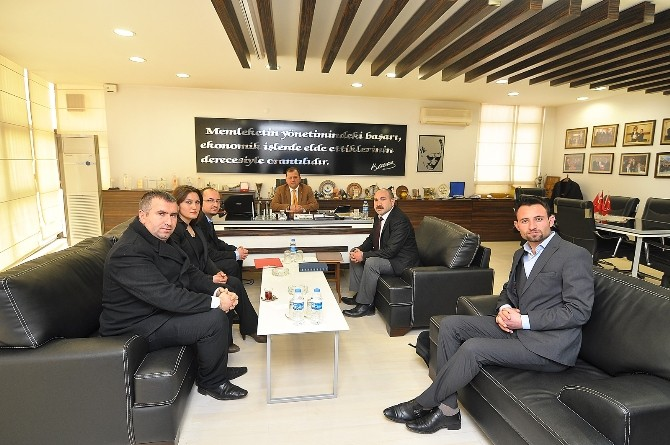 Anatolia Turizm Derneği'nden TSO'ya Ziyaret