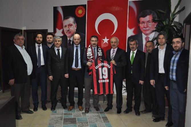 Çorum Belediyespor'dan Bekiroğlu'na Ziyaret