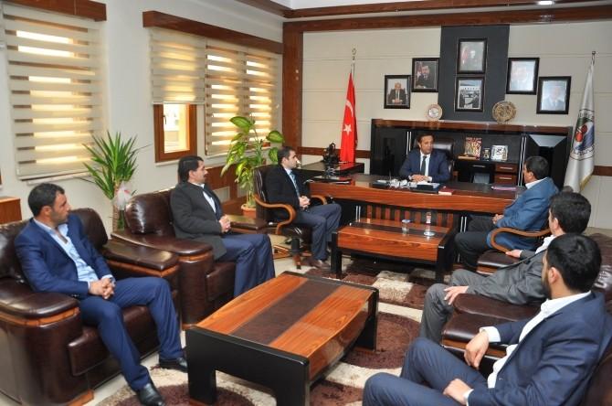 Horasanlılardan Başkan Toltar'a Ziyaret
