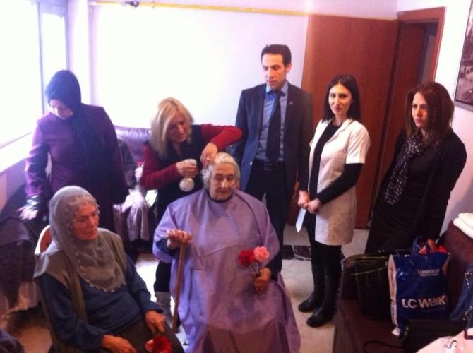 Elazığ'da Yaşlılar Haftası Kutlamaları