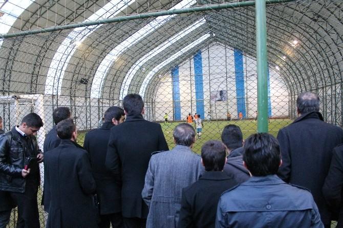 Hakkari'de Kurumlar Arası Futbul Turnuvası