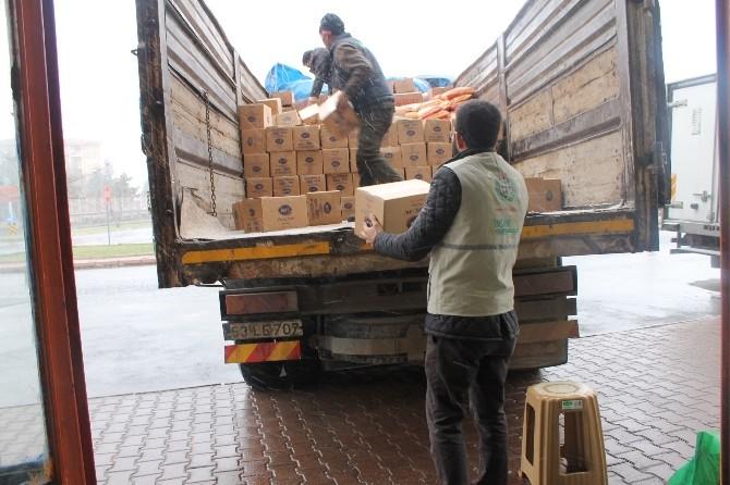 Kayseri'den, Suriye'ye Yardım Eli Uzandı