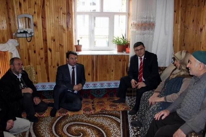 Beyşehir'de Şehit Aileleri Ve Gazilere Ziyaret