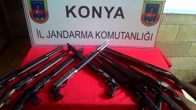 Jandarma Usulsüz Üretim Tüfek Denetimlerini Sürdürüyor