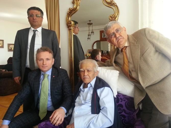 Keksav Başkanı Galip Kaya'ya Anlamlı Ziyaret