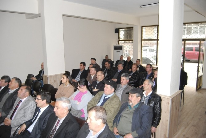Malkara'da Şeker Pancarı Ekimine Teşvik Toplantısı Yapıldı