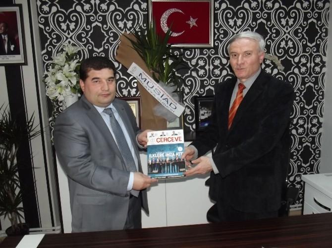 MÜSİAD Yöneticilerinden BİK Malatya Şubesi'ne Ziyaret