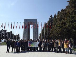 Anadolu Üniversitesi Gönüllülerinden Çanakkale'ye Anlamlı Gezi
